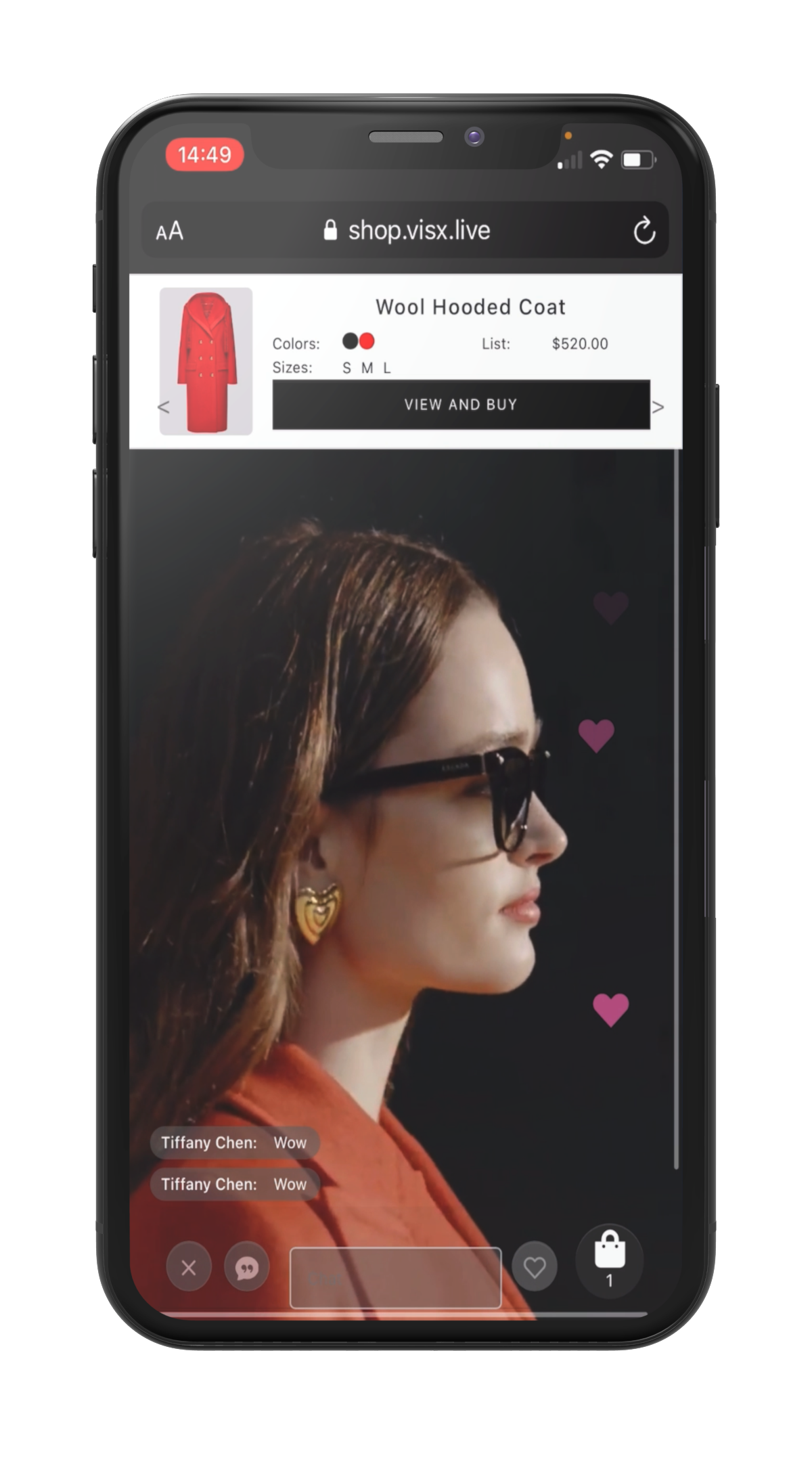 Live Stream Shopping Platform | VISX Live